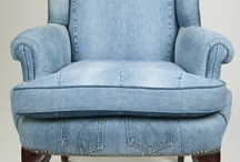 Denim & Blue Jeans Baby / Recycled denim made into home decor projects, fashion and crafts!