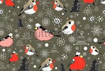 Новогодние паттерны/Christmas patterns