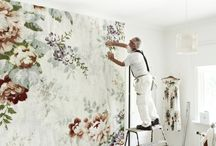 wallpaper, wall painting, the colors Wonders....... :)