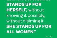 Girl Inspiration / We're girls. Nothing can stop us! / by Girl Scouts of Maine