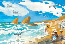 Water Rolls, Water Rises/El agua rueda, el agua sube / A picture book by Pat Mora, illustrated by Meilo So. A poetic ode to the beauty of the natural world as expressed by the movement and moods of water on Earth.