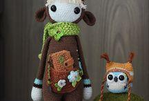 Soft / Soft sculptures, plushies, toys and dolls - plush, felt, crochet etc.
