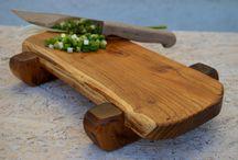 Wood — cutting boards / Mostly end grain cutting boards.