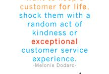 customers are why / by Sheila Winderlich