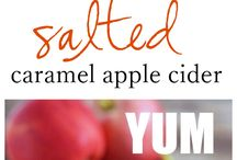 Recipes Using Apple Cider / We haven't tested any of these recipes but they sure do look and sound good.