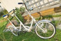 Fem mil på en mini-tandemcykel!