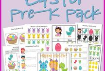 Easter preschool theme / by Lori Cawcutt