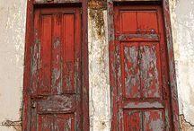 Doors painted / Doors