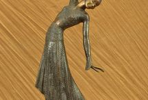 Art Deco Figurines