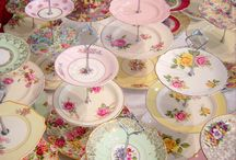 Vintage / Vintage China high teas