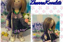 Мои кукляшечки / Текстильные куклы и игрушки,сделаны с любовью.