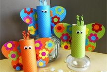 kids crafts / by Lizzie L
