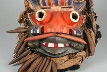 Native masks from around the world / There are these extraordinary masks from around the world