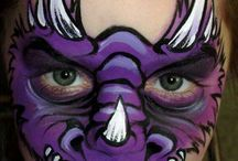 creature scary Face Painting