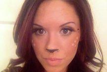 Costumes Halloween / Maquillage Halloween femme