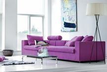 Purple for Passion & luxury
