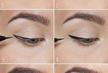 idealne kreski / makijaż oczu