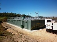 Commercial On-site Water and Waste Water Treatment Systems / Transportable and skid mounted on-site water and waste water treatment systems - easily relocatable - ideal for mining camps - remote locations - schools - resorts - caravan parks - Reverse Osmosis systems - grey water treatment