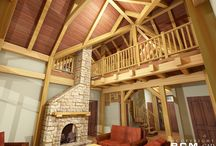 Brighton timber frame / The Brighton is a 2099 square foot timber frame home on crawl space. This house is almost finished by owners working on weekends to complete their life dream. Check out the finished photos...