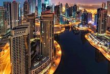 Dubai,UAE / Meet the cosmopolitan Dubai, the place where luxury has passed into another dimension! Artificial islands, artificial ski resort, underwater restaurants, hotels and countless shopping malls. The best time to visit it starts in November, as temperatures are milder. Hotel rooms from 51.50€ only!!! For the cheapest bookings, click here: https://e-globaltravel.com