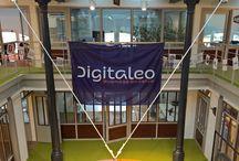 La Fabrique : bienvenue dans nos locaux ! / Des locaux dignes de la Silicon Valley en plein coeur de Rennes. Open-space, salles de réunion colorées, canapés, baby-foot...