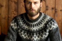 Sweatere, Islands mønster