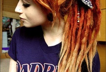 Dread Hairstyles // Roots . Synthé . Colors //