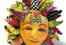 Polymer clay/ Fimoklei / by Jolanda van Bergen