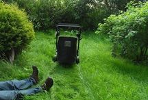 Lawn Humour / The lighter side of lawn!