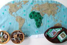 Föld, térkép