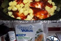 Crock pot food / by Laura Anderson