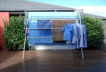 Maxi - clothes airer clotheslines portable clothes drying lines / The Maxi clothes airer, as the name suggests is the biggest of the four clothes airers in the Hanging Stuff range. Why worry about a permanent clothes line when you can use a lightweight, portable clothes airer laundry dryer. This model would suit large families with its hanging capacity, and just the thing for drying heavier items such as wetsuits and snowsuits. With this clothes airer, towels and sheets are just not a problem.