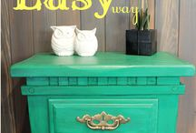 furniture repaint / by Rachael Tadlock