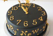 zegary nowy rok