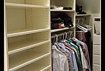 Making the Most of Angled Closets / Have sloping walls? Angled ceilings? or walls with varying heights? No problem! We can make the most of these awkward spaces