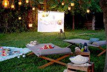 Outdoor Movie Theatre Ideas