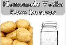 Hjemmelavet Vodka af Kartofler