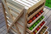 uskladnenie ovocie zeleniny