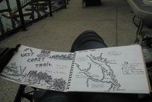 Travel & ideas Sketching