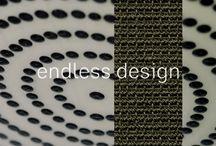 Wie zijn wij? / De betekenis van Endless Cunera samengevat in vier afbeeldingen. Het creëren van een eindeloze wereld met behulp van duurzaam en natuurlijk tapijt.