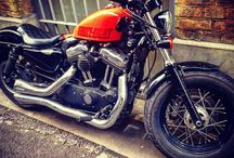 Harleysite #Repost @alejandrovmagnum London Bikes #harleydavidson #sportster #sportster48 #motorbikes #london