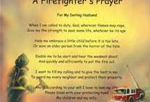 fire fighters / by Gale Hinson