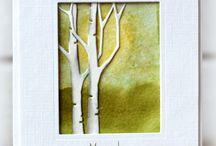 kaart bomen-takken
