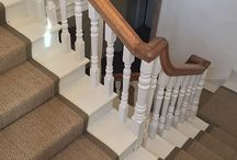 Rugs & Runners ideas |  Sisal, seagrass and custom flooring products / Sisal and seagrass natural fibre rugs and runners for the home | Sisal runners | Sisal Rugs | Sisal Stair Runners | Seagrass Rugs | Seagrass Runners | Custom Rugs