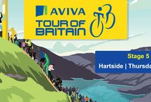 Aviva Tour of Britain in Eden 2015 / The 2015 Aviva Tour of Britain Cycle Race came to Eden on Thursday 10 September with a spectacular sporting finish!