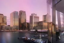 Dollar Bay / Spectacular dockside studio, 1, 2, & 3 bedroom apartments overlooking Canary Wharf, London with stunning waterside views