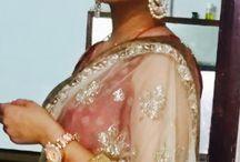 Traditional indian makeup look