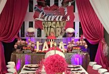 Lara's Cupcake Wars Party - Kate Spade Style
