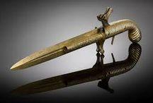 black powder knives and swords