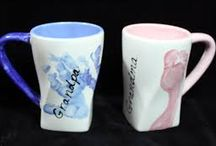 Fun with Mugs / Ideas for painting mugs